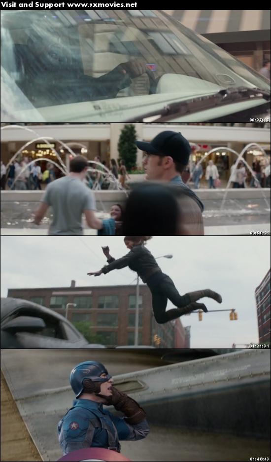 Captain America The Winter Soldier 2014 Dual Audio Hindi 480p BluRay
