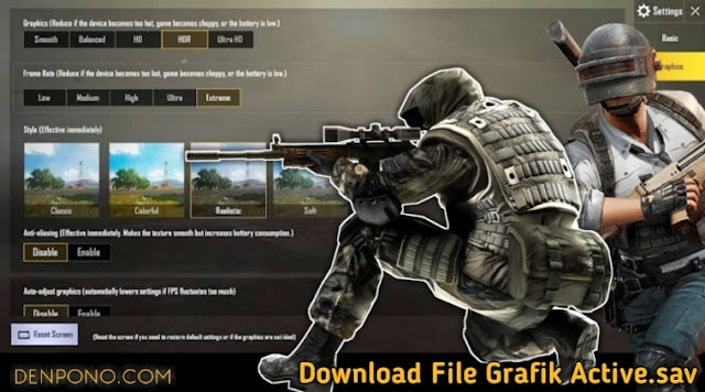 Download File Active.sav untuk Kualitas Graphic Smooth Extreme PUBG Mobile