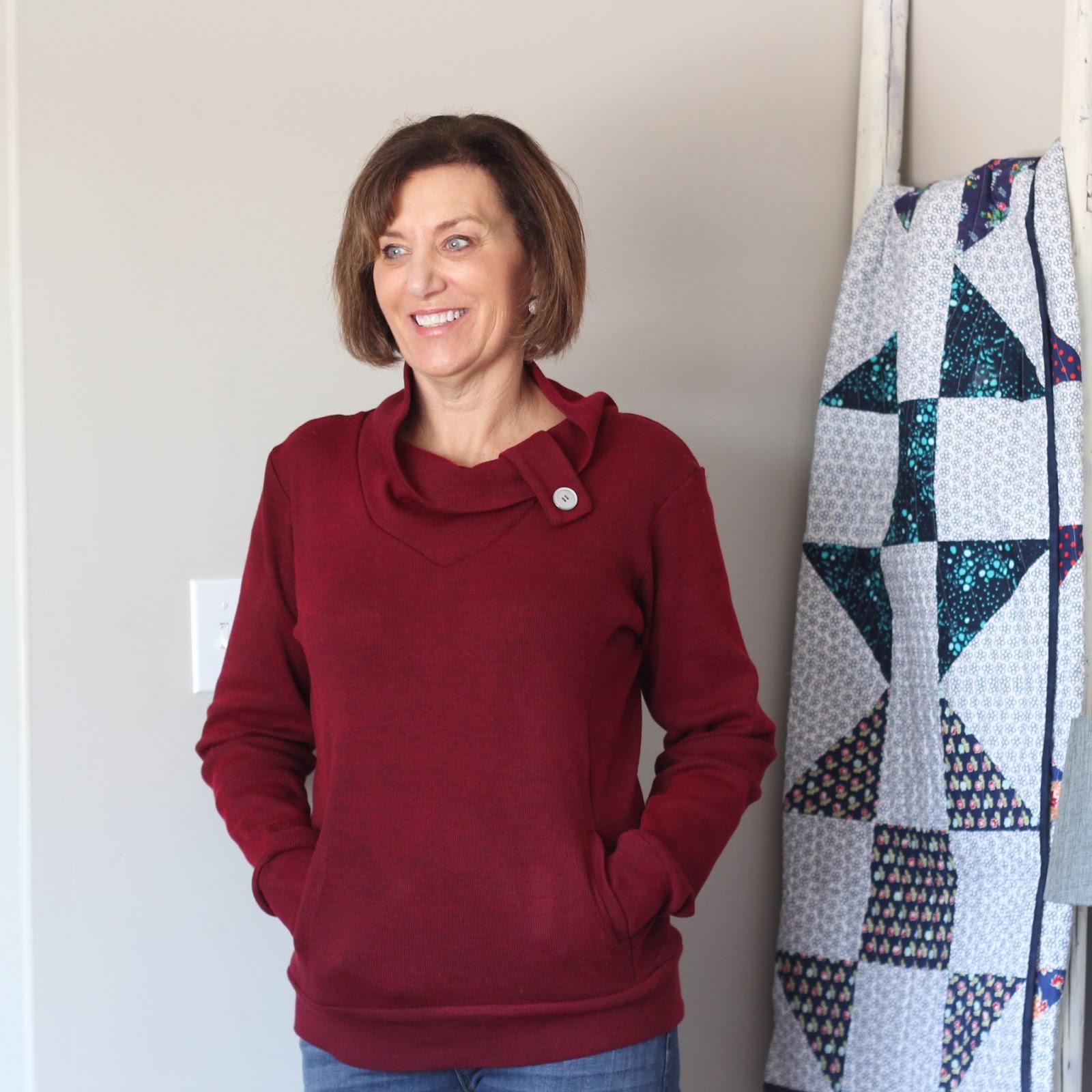Girls In The Garden Jasper Sweater Sewing Studio Sweater Knit