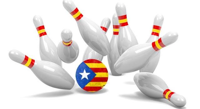 La nueva y vieja España y Cataluña.