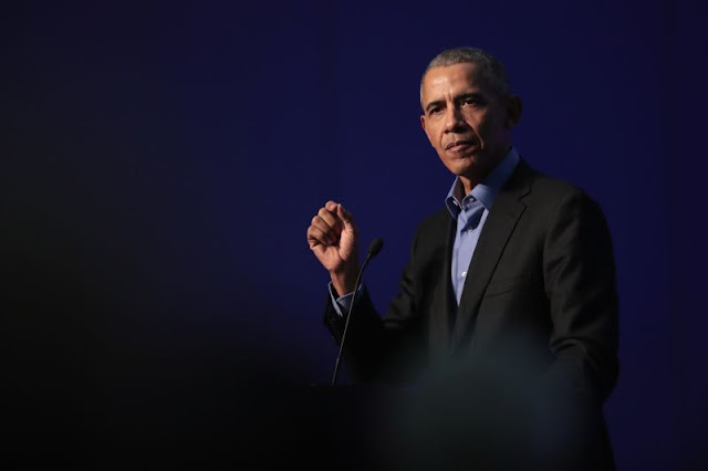 Obama blamed for Libyan slave trade