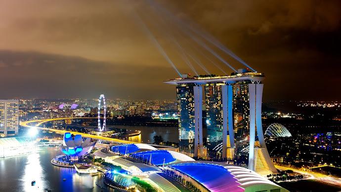 Wallpaper: Marina Bay Sands