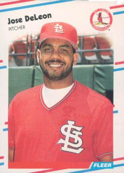 Baseball Cards Come To Life One Of Jose Deleons Favorite