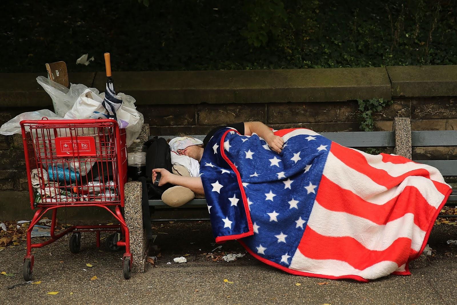 Estados Unidos, una potencia con pies de barro - Marcelo Colussi - febrero 2019 Homelessusa