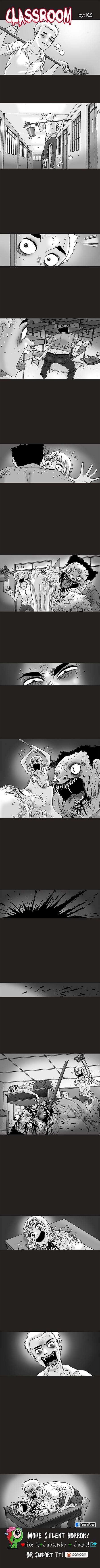 Silent Horror chap 59: Lớp học