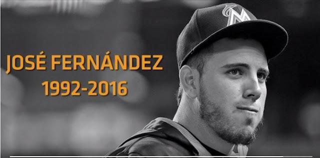 El cubano, José Fernández, murió en la madrugada de este domingo en un accidente de lancha mientras navegaba con otros dos amigos frente a las costas de Miami Beach