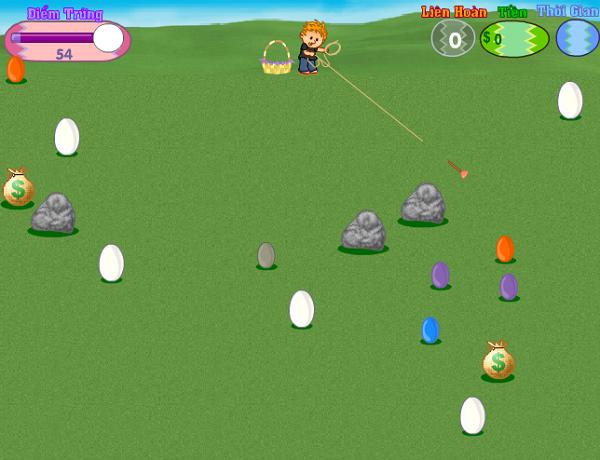 Game Săn Trứng Vàng, săn trứng tính điểm cực vui b