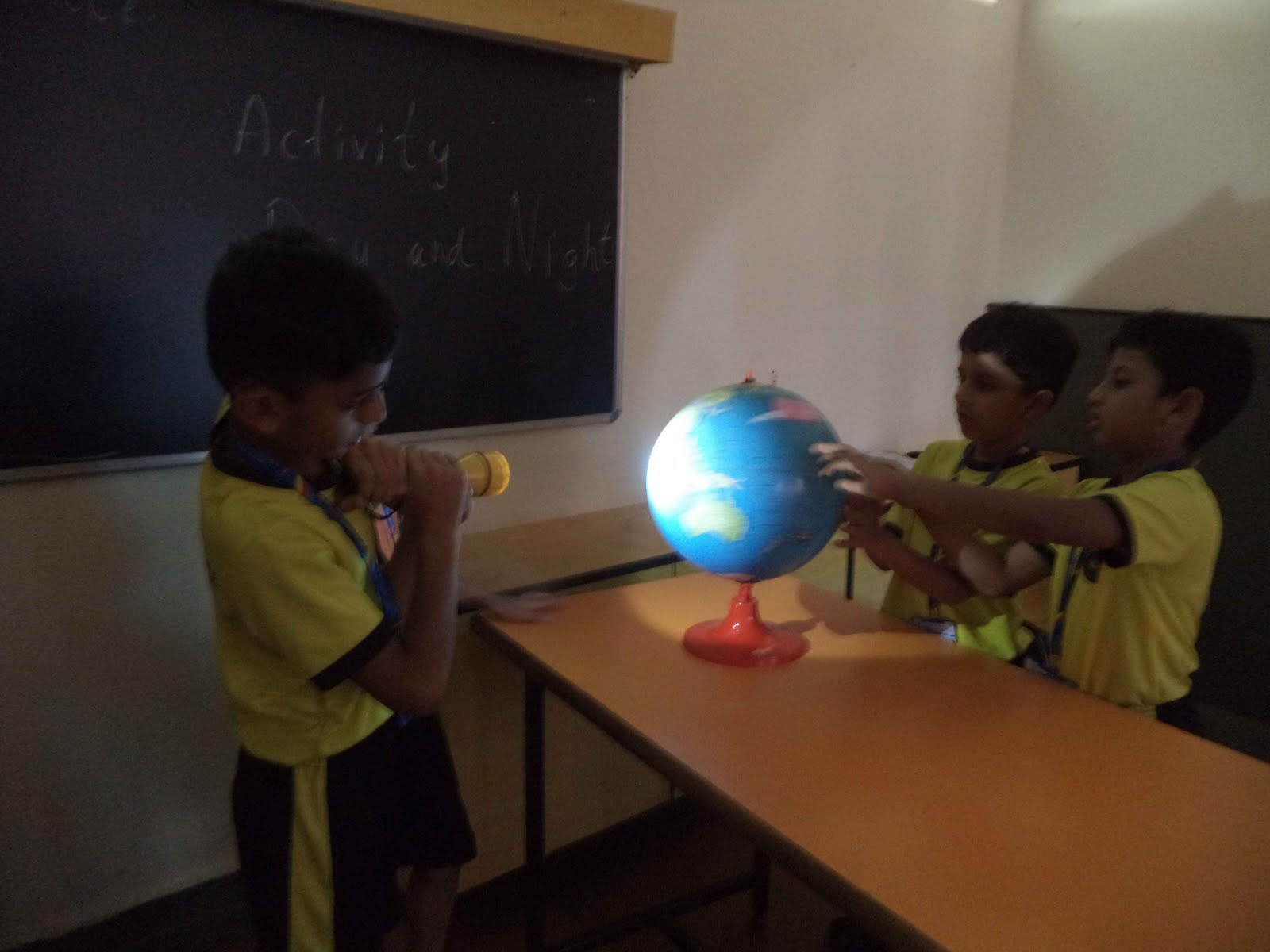 The Rustomjee Cambridge Diaries Grade 3 Science Activity