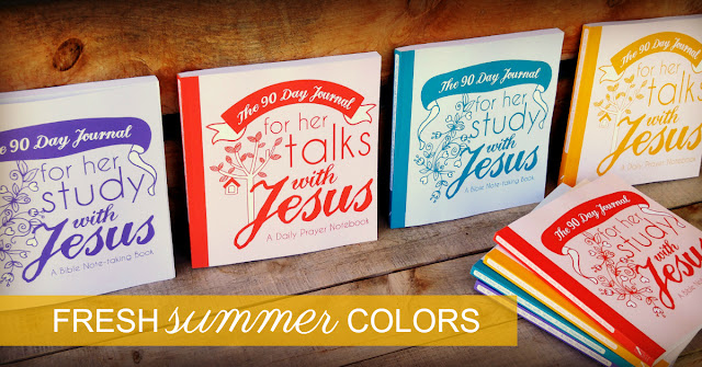 New Summer Color Womens Bible Study Journals at 123 Journal It Publishing