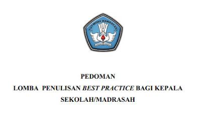 Format Penulisan Best Practice kepala sekolah