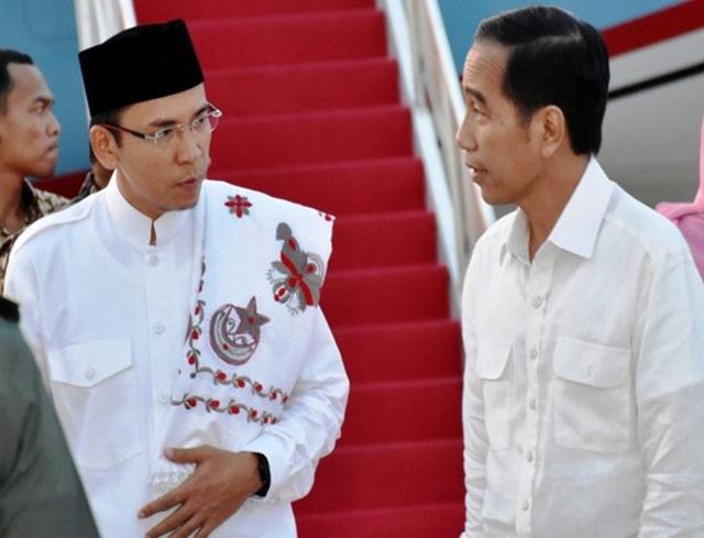 Dukung Jokowi 2 Periode, TGB Beralasan Demi Kepentingan Umat