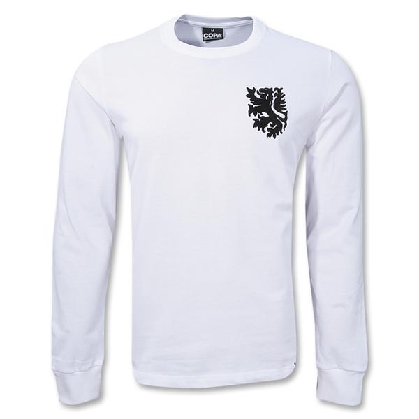 Áo thun thể thao phối màu trắng