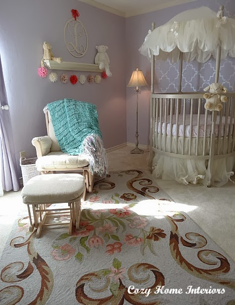 Frosted Lilac by Olympic - nursery paint color