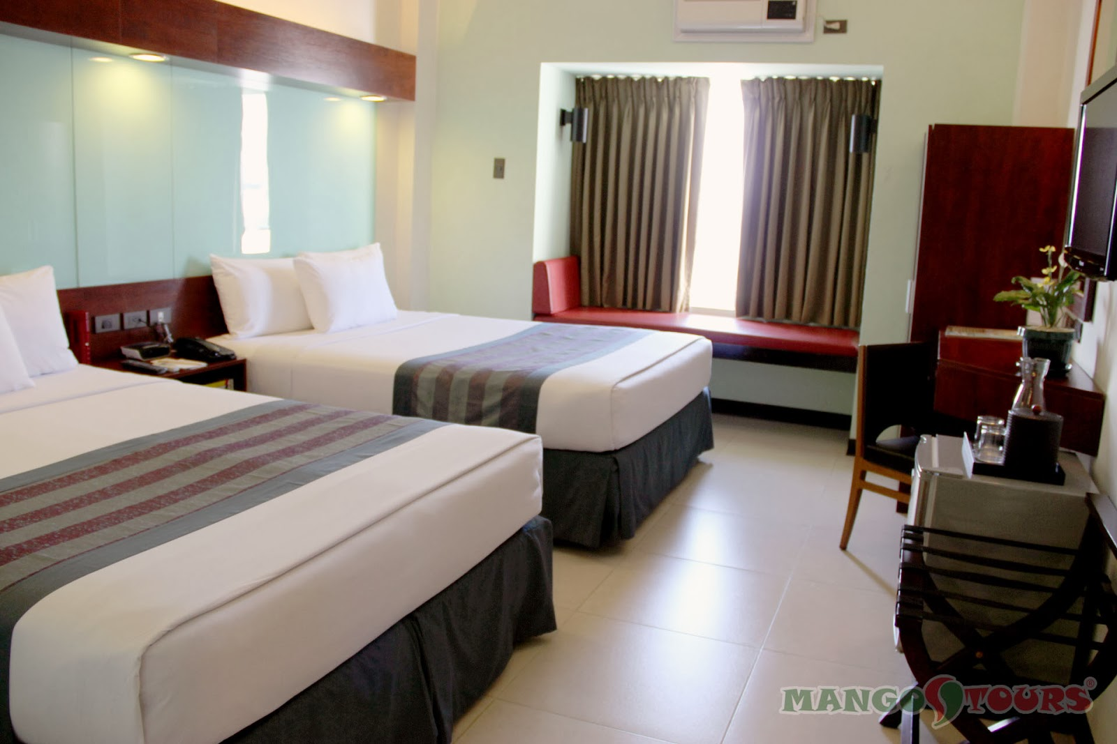 Mango Tours Microtel by Wyndham Mall of Asia rooms accommodation