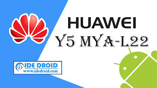 Cara Flashing Huawei Y5 MYA-L22 100% Tested