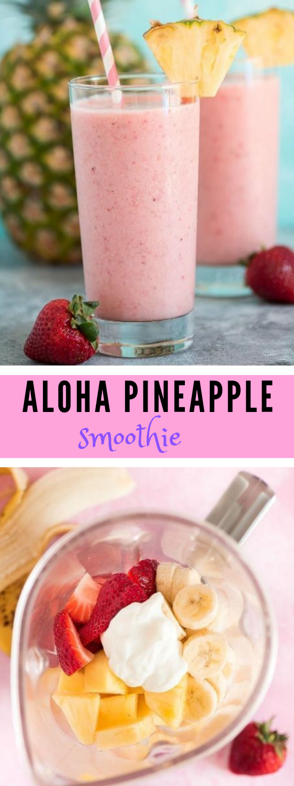 ALOHA TROPICAL SMOOTHIE #delicious #smoothie