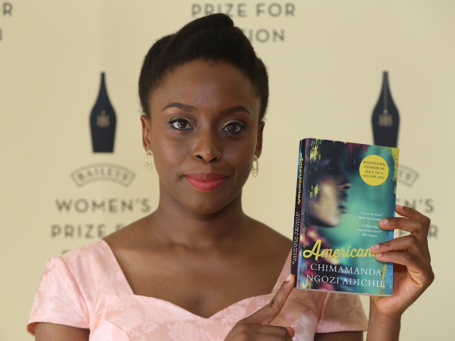 chimamanda Ngozi Adichie Americana WINS ONE NEW YORK