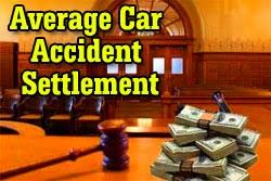 Average Car Accident Settlement