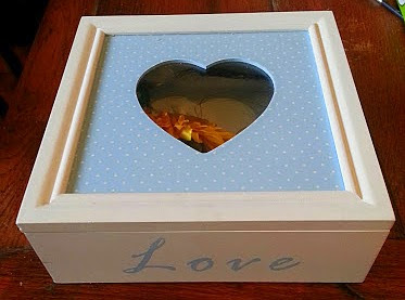 A memory box for a child who has lost a loved one