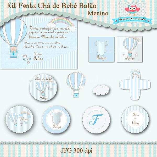 arte digital, kit digital, convite, topper, caixa acrilica, min to be, elementos, forminha, doce, balão, nuvem, totem
