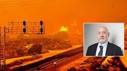 Ο νομπελίστας οικονομολόγος Τζόσεφ Στίγκλιτς εξέφρασε την άποψη ότι η κλιματική κρίση είναι ο Γ΄ Παγκόσμιος πόλεμος, επισημαίνοντας ότι «χρε...