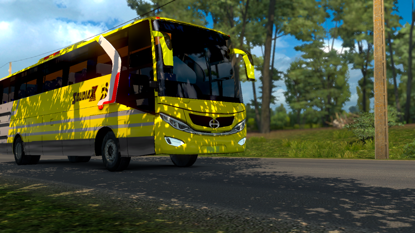 soudia bd bus mod euro truck simulator 2 bd gamex. Black Bedroom Furniture Sets. Home Design Ideas