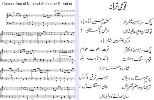 National Anthem of Pakistan