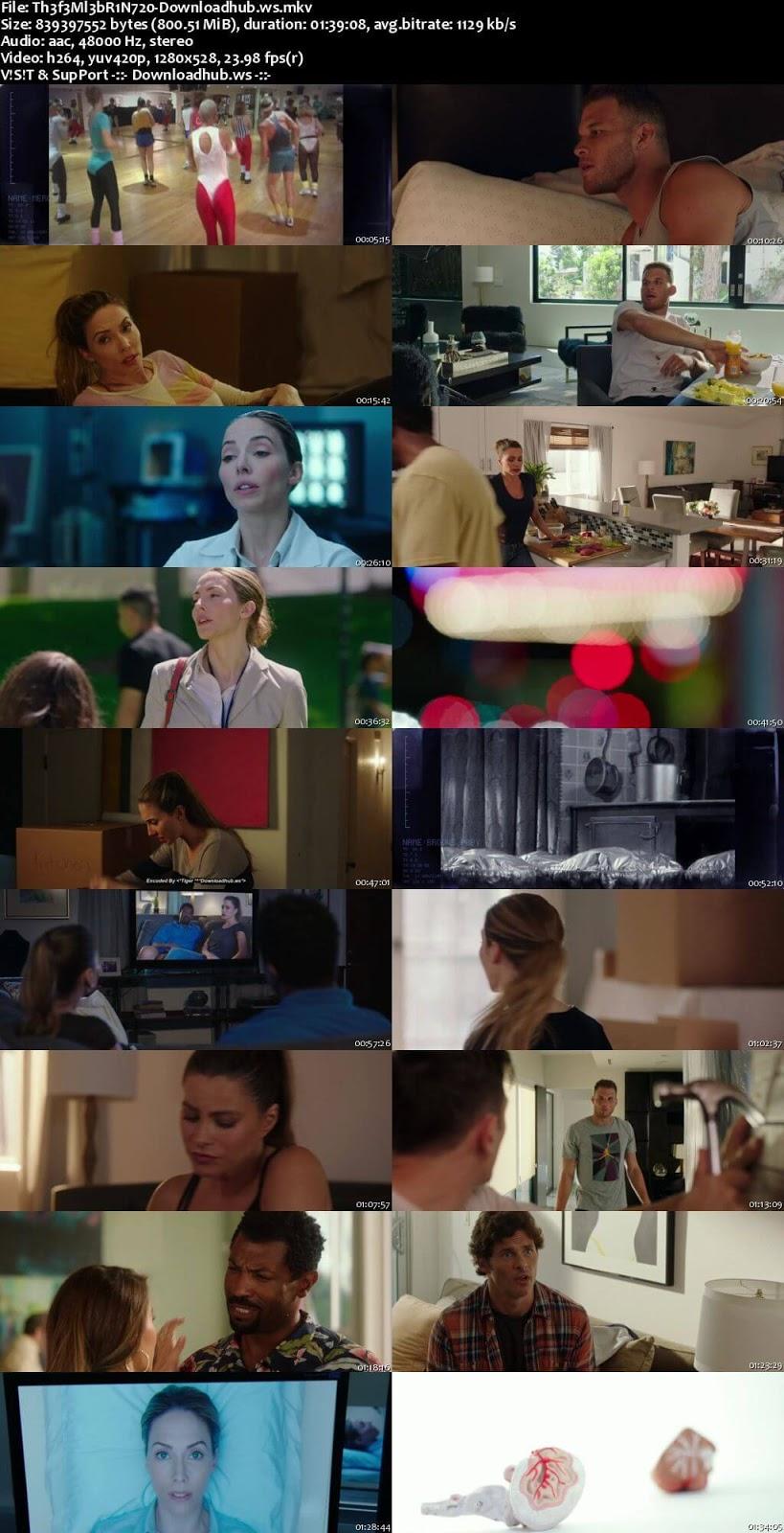 The Female Brain 2017 English 720p Web-DL 800MB