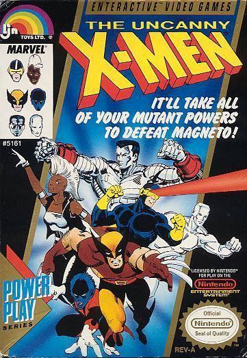 Neko Random A Look Into Video Games The Uncanny X Men Nes