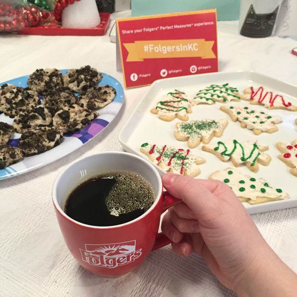 Folgers Perfect Measures Coffee Party and Cookie Swap