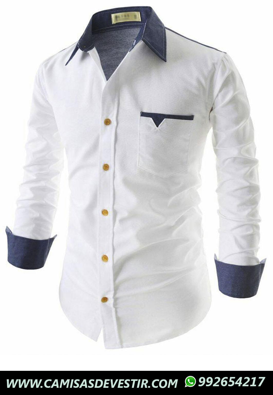 En Lima Fit Perú Camisas Huaraz Camisa De Blanca Vestir Slim 8qwwBt