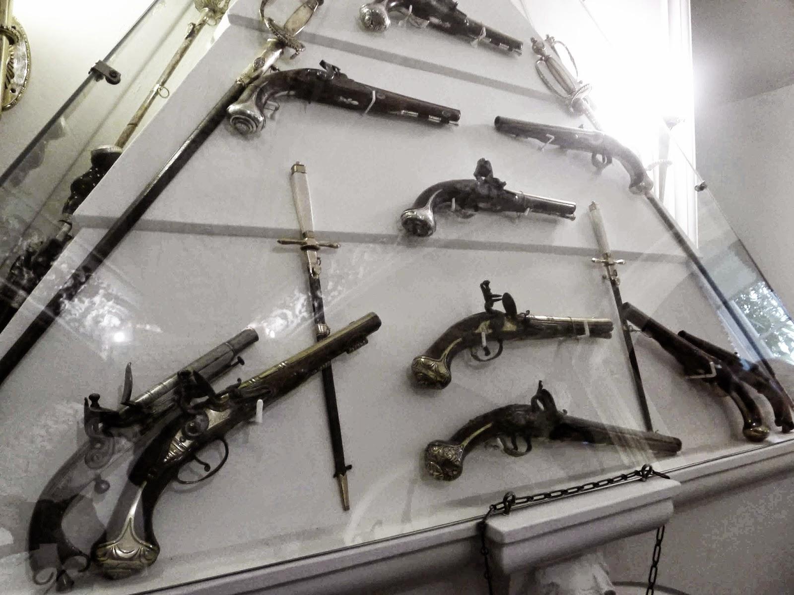 Ballindalloch Castle Guns