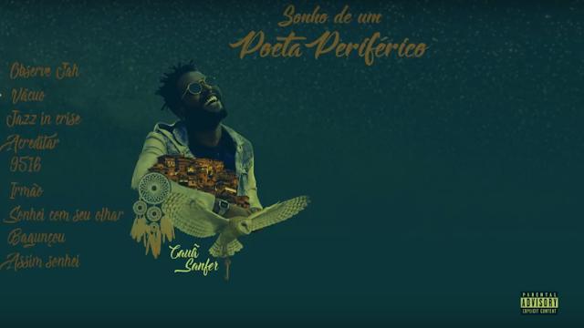 """Cauã Sanfer lança sua mixtape de estréia """"Sonho de Um Poeta Periférico"""""""
