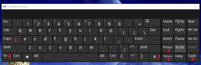 Cách dùng bàn phím ảo trên máy tính Windows