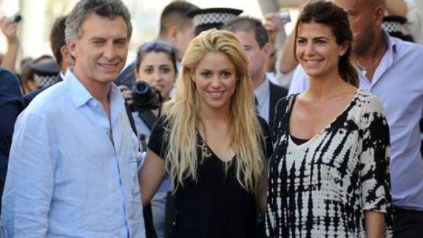 Macri en concierto: se reúne en Alemania con Shakira y el cantante de Coldplay