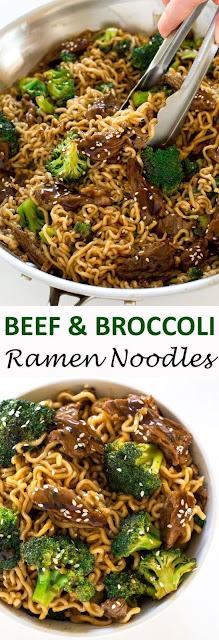Beef and Broccoli Ramen