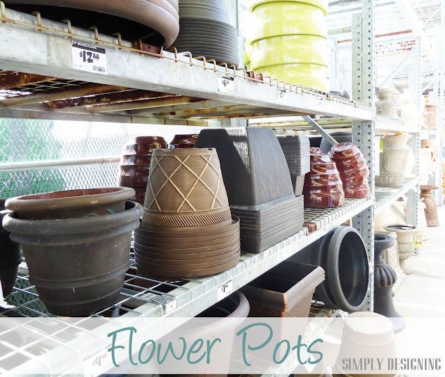Flower Pots at The Home Depot #sponsored #digin #heartoutdoors #spring