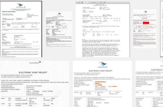 Cara Cetak Tiket Pesawat Garuda Online