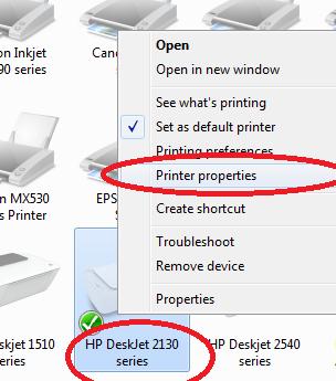 Cara Instal Printer Hp 2130 Ke Laptop Info Seputar Hp