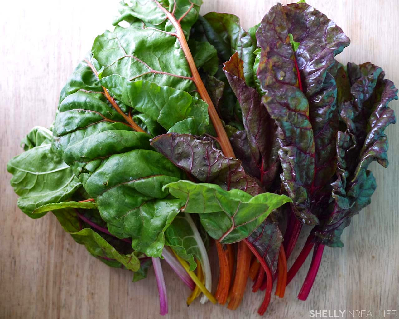 Farmers Only Reviews >> Sautéed Rainbow Swiss Chard - Shelly in Real Life