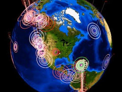 En las últimas horas se registran 20 sismos en cinco estados de la República mexicana.