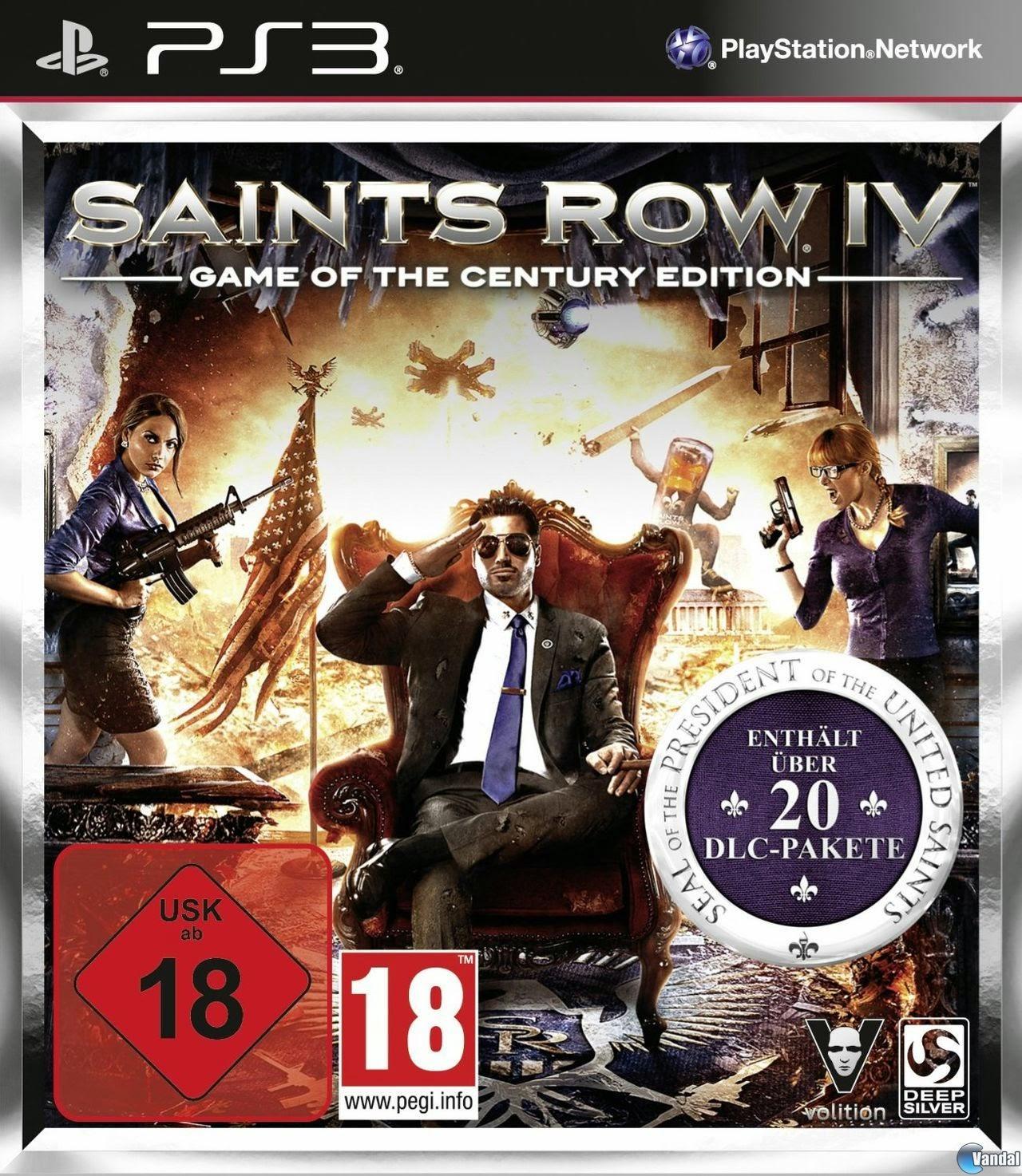 Saints Row IV PS3 free download