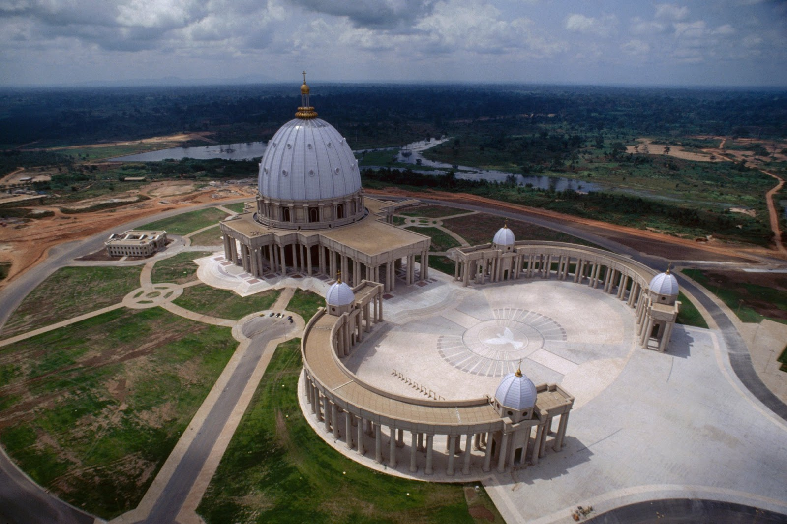 Basilica of our lady of peace,IVORY COAST