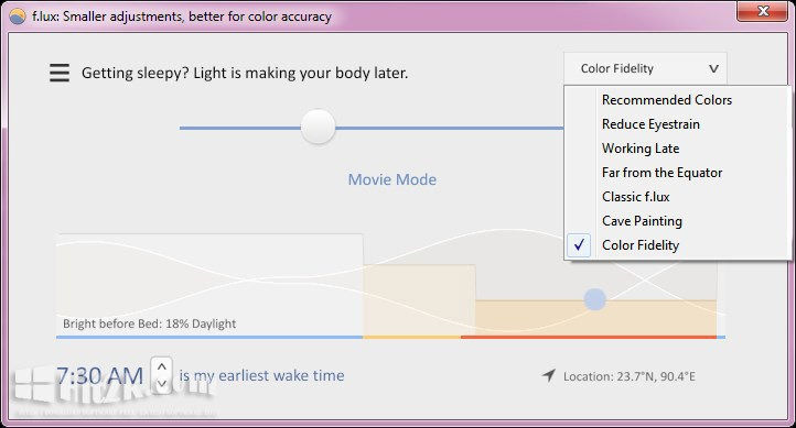 f.lux 4.64 Download