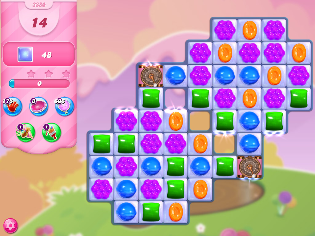 Candy Crush Saga level 3380