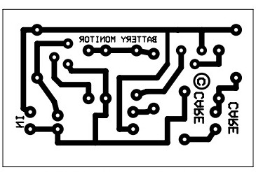 12v Battery Checker Circuit Electronic Circuit