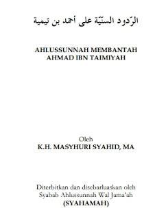 Ebook Ahlussunnah Membantah Ahmad ibn Taimiyah