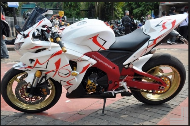 modifikasi motor cbr 250 rr