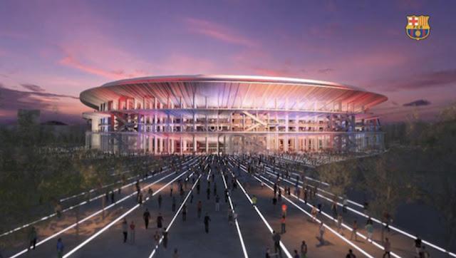 Le nouveau stade du Barça en images