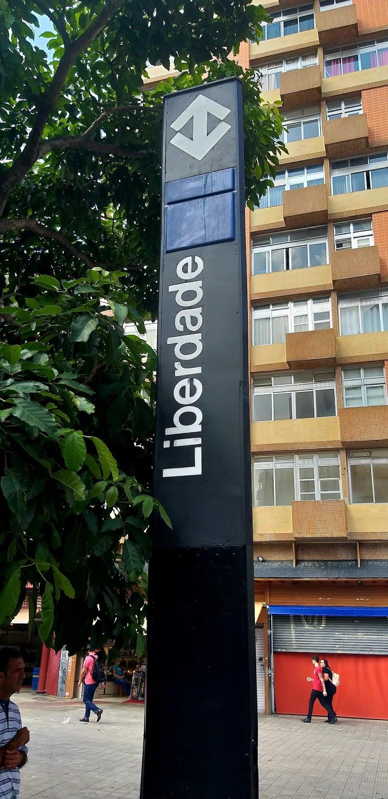 O Japão está no bairro Liberdade em São Paulo